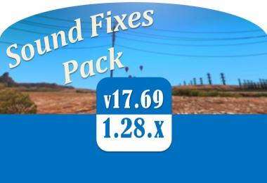 Sound Fixes Pack v17.69
