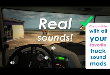 Sound Fixes Pack v17.59 [ATS edition]
