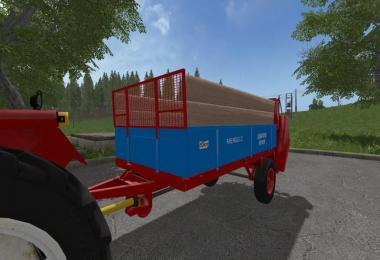 Trailer / equipment pack V1 Mengele DT manure spreader