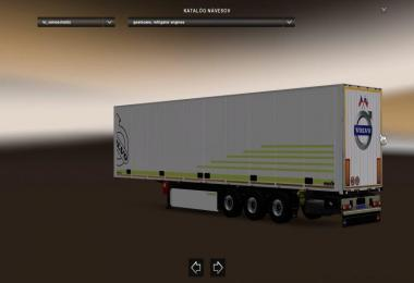 Volvo Skin for Schmitz SKO Trailer
