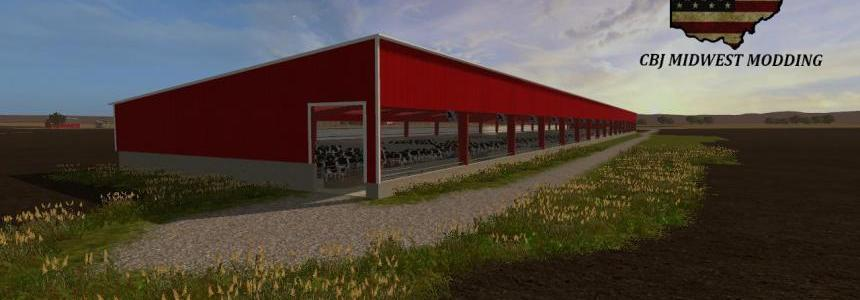 100 x 660 Cattle Barn v1.0