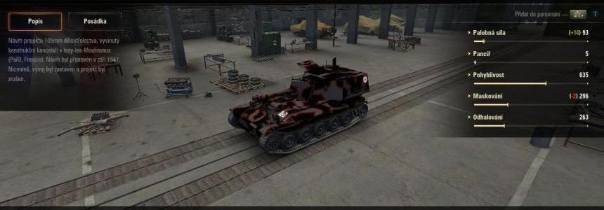 AMX 105 leopard camo v1.0.0.0