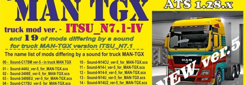 MAN TGX ITSU_N v7.1