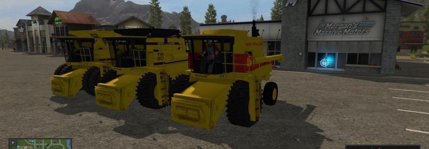 3 New Holland TR Harvesters v1.0