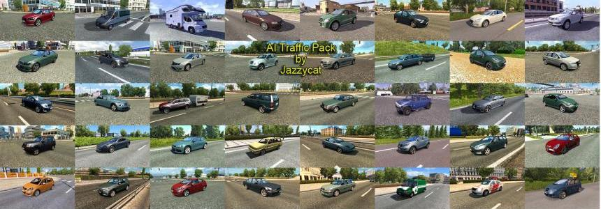 AI Traffic Pack by Jazzycat v6.1