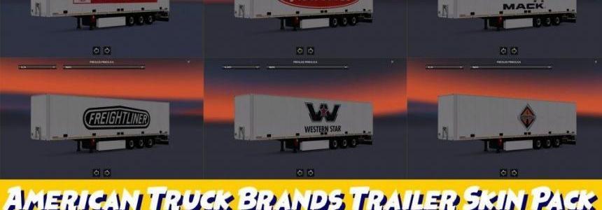 American Truck Brands Trailer Skin Pack
