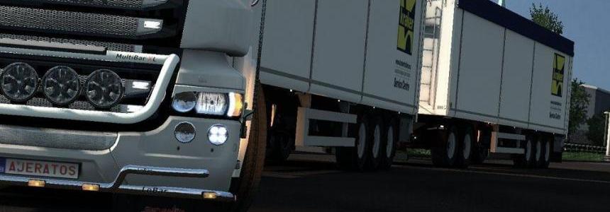 Cabin Improvement for Real Physics for Trucks v4.9.7