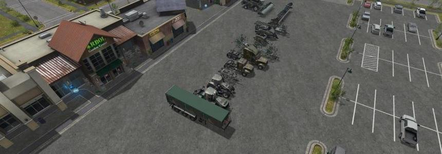 Camo Pack NH and Case Tractor v1.0