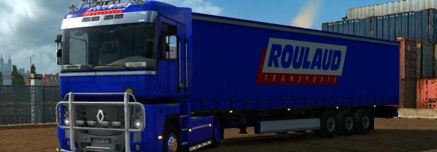 Combo Pack Renault Magnum Roulaud Transports v1.0