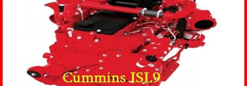Cummins ISL9 380 for DAF XF 105 chiptunned 1.28.x