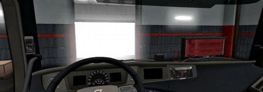 Dark Interior For Volvo FH 16 2012 v1.0