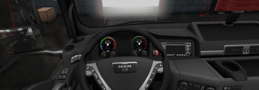 Dashboard for MAN TGX SCS 1.28.Xs