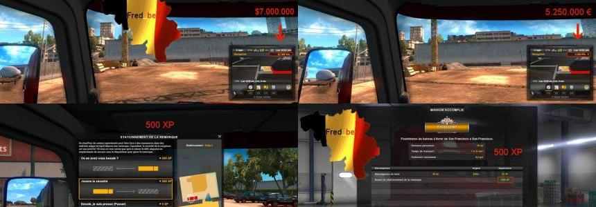 Fast Level & More XP for ATS V1.29.x