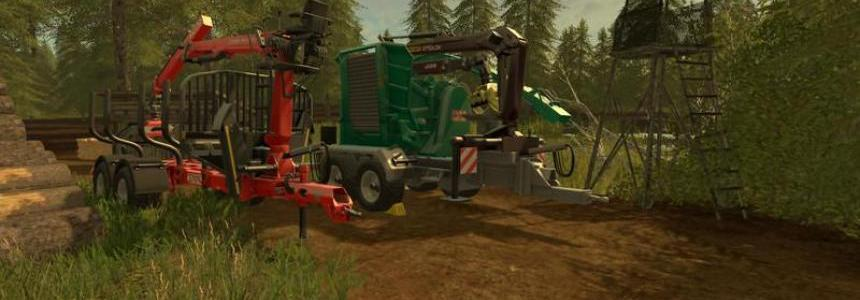 Forestry equipment with Dynamic Hoses v1.0