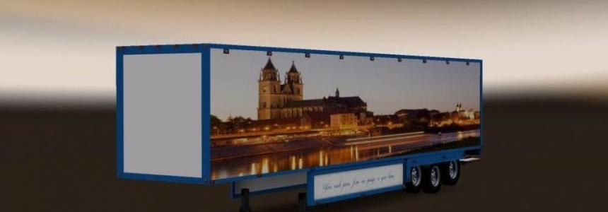 Fourgon Trailer Magdeburg Skin 1.28.x