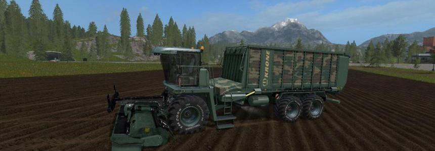 FS17 Krone Big L500 Camo v1.0.0.1