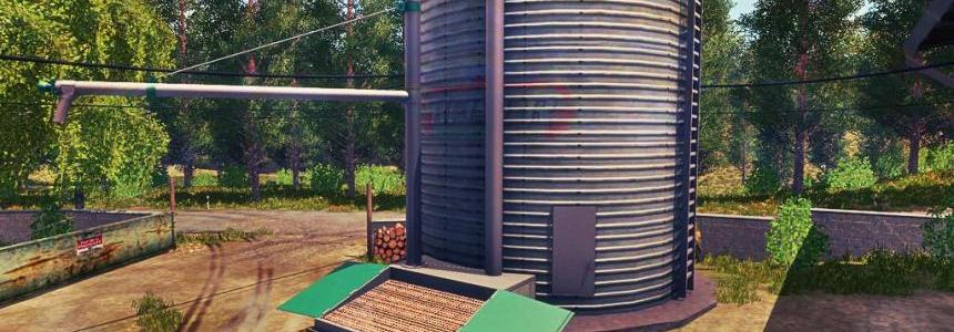 Grains Storage Silo Placeable v1.0.0.1