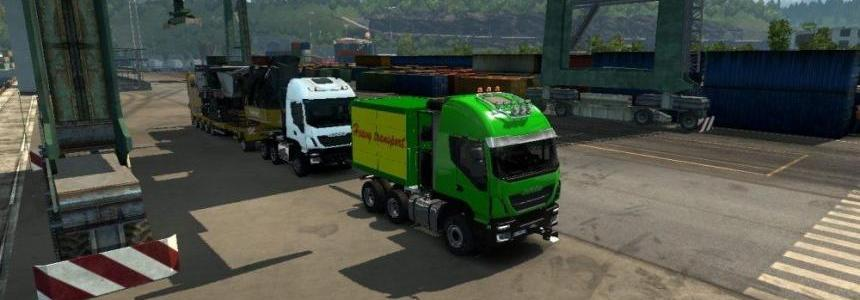 Heavy Haul Convoy Trailer Mod 1.28.x