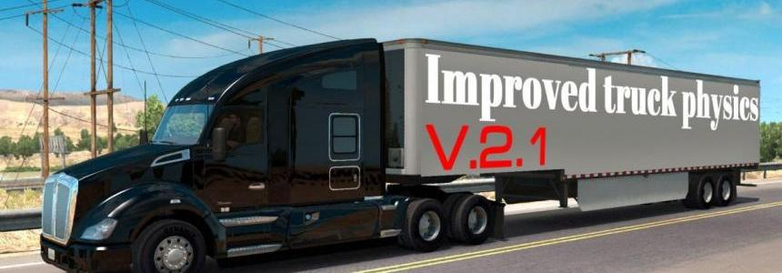 Improved truck physics v2.1 (1.29)