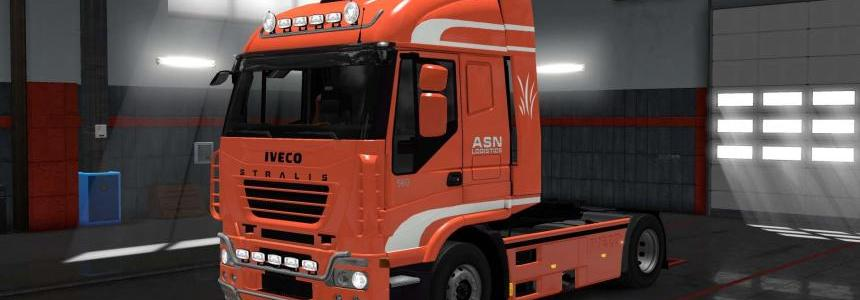 Iveco Stralis ASN Logistic skin 1.28.x