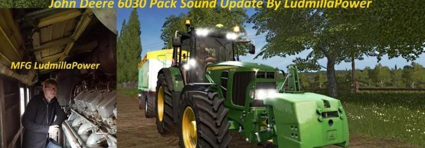 JD 6030 Pack Sound By LudmillaPower