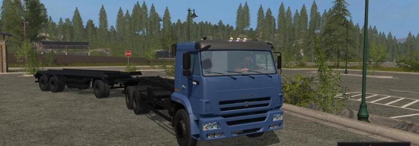 Kamaz 658667 + Trailer T83090 v1.0