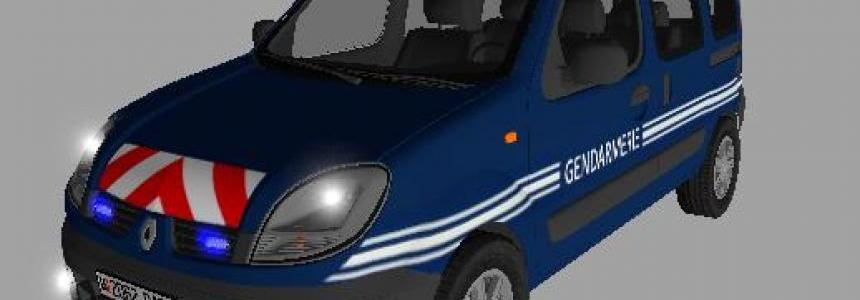 Kangoo Gendarmerie v1.0