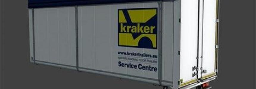 Kraker Walkingfloor Box for the DAF XF by 50k