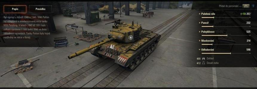 M46 PATTON skin to M46 PATTON KR v1.0