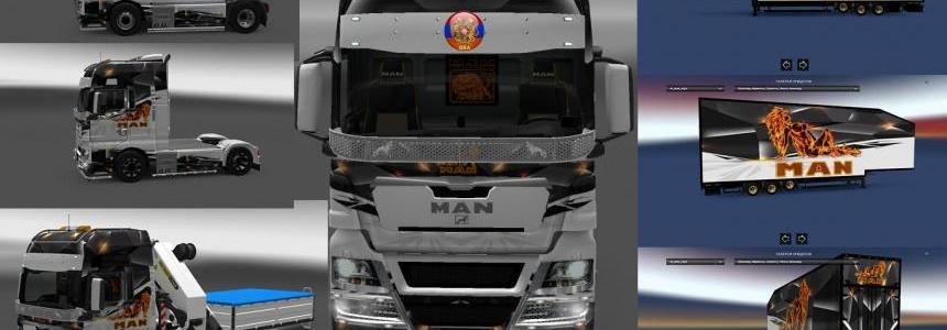 Man TGX - Man 2010 Man Style Combo Skin Packs 1.28.1.3s