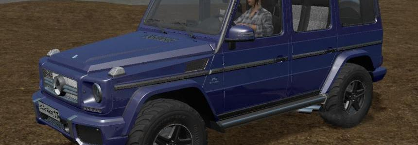 Mercedes-Benz G65 Multicolor v1.3