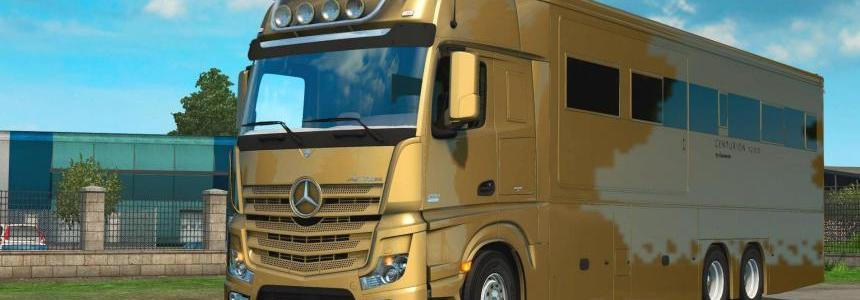Mercedes MP4 Actros Motorhome 1.28.x