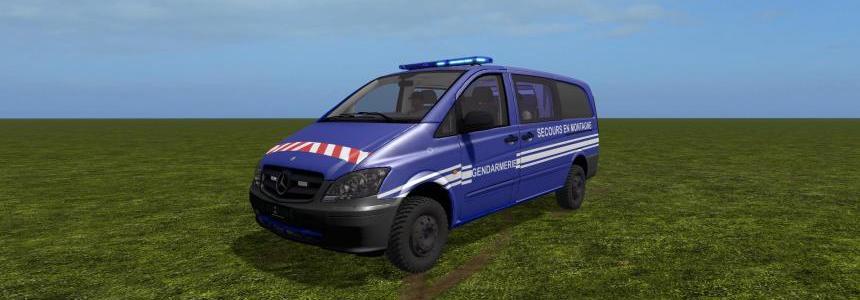 Mercedes Benz Vito PGHM v1.0