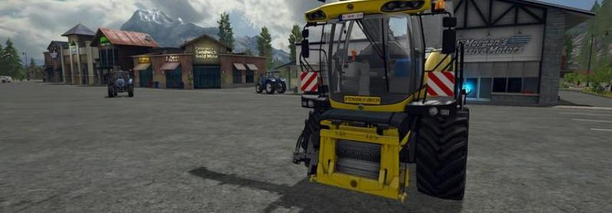 New Holland FR850 Manual pipe v1.0