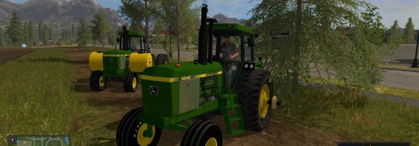OLD IRON JD 4640 2WD v1.0