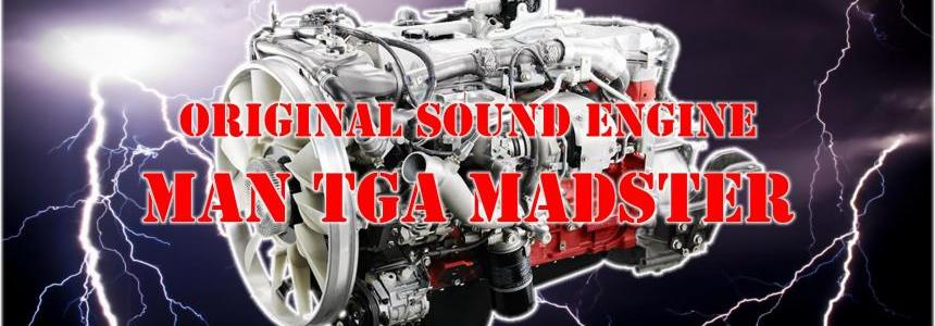 Original engine sound MAN TGA MADster v1.0
