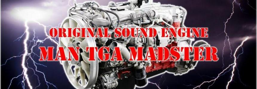 Original Engine Sound MAN TGA