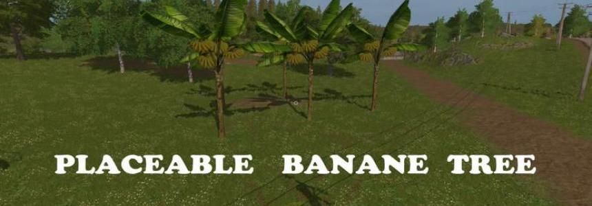 Placeable Banana Tree v1.0
