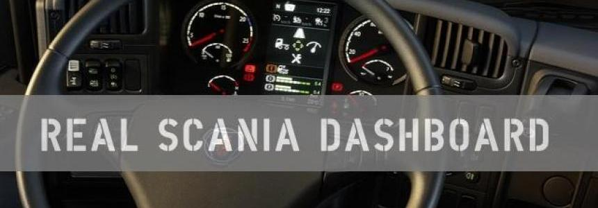 REAL SCANIA DASHBOARD 1.28