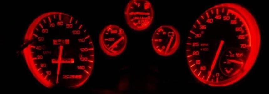 Red Dashboard Lights 1.28.x