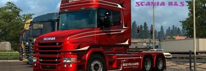Scania 4 series V8 sound 1.28.x