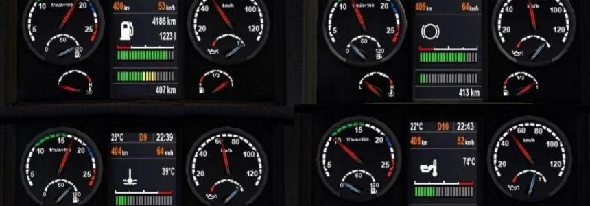 Scania dashboard real v1.0
