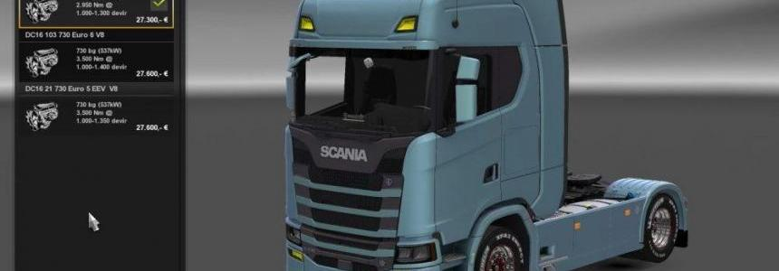 Scania Engines update 1.28.x