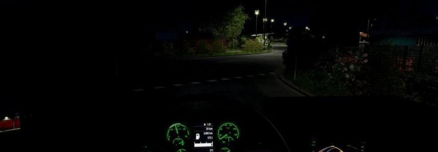 Scania Green Interior 1.28.x