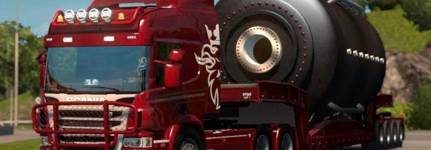 Scania R G P Cabs + Tandem Mega Mod v1.0