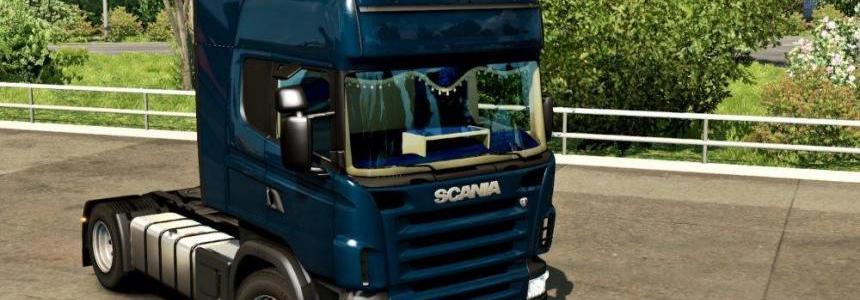 Scania RJL CMI Blue Interior v1.0