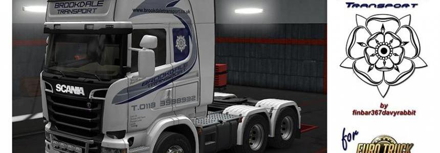 Scania Streamline Topline – Brookdale Transport Texture