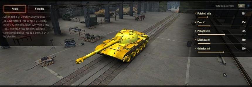 T34-3 GOLD SKIN v1.0