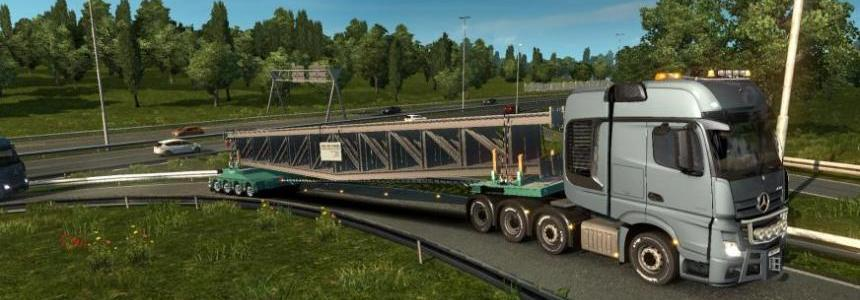 Trailer Doll Stahlbrucken Konstruktion 1.28