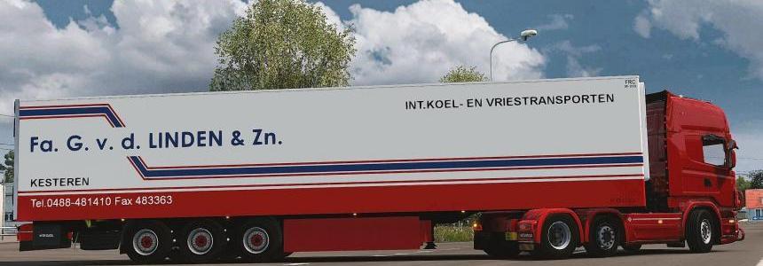 Trailer Kogel Fa. G. v. d. LINDEN & Zn. 1.27-1.28